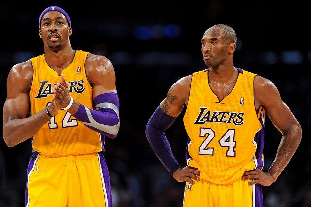 Kobe Bryant disapproves of Dwight Howard's choices (Noah Graham/ Getty).