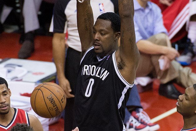 Andray Blatche makes the Wizards smell his armpits (MCT via Getty Images).