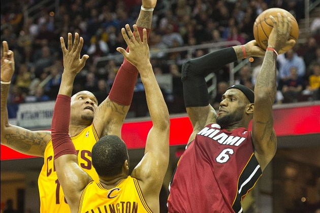 LeBron James and the Heat remain just out of reach (Jason Miller/ Getty).