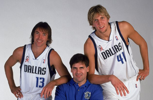 Much has changed since the Mavericks last changed their uniforms (Glenn James/ Getty).
