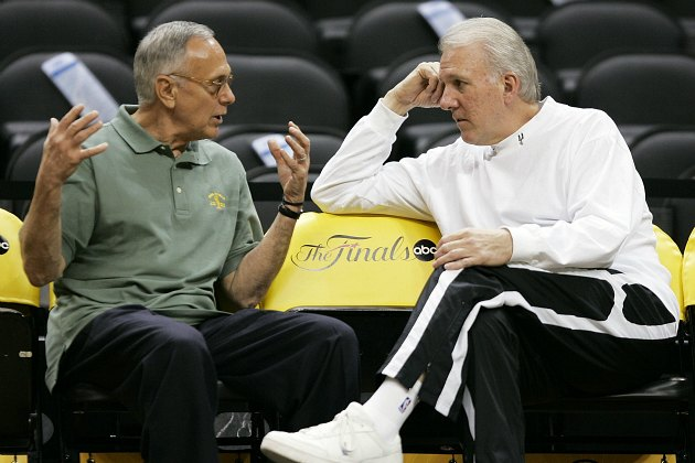 Larry Brown reminisces about the time he ruined Gregg Popovich's career (Brian Bahr/ Getty).