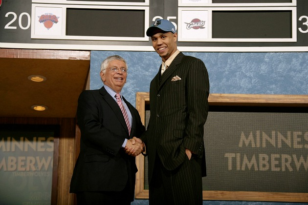 Brandon Roy finally fulfills his destiny as a Timberwolf (Nathaniel S. Butler/ Getty).