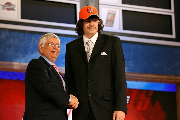 For one moment, Adam Morrison was part of a bright Bobcats future (Jesse D. Garrabrant/ Getty).