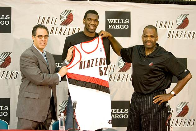 The Blazers are officially parting ways with Greg Oden