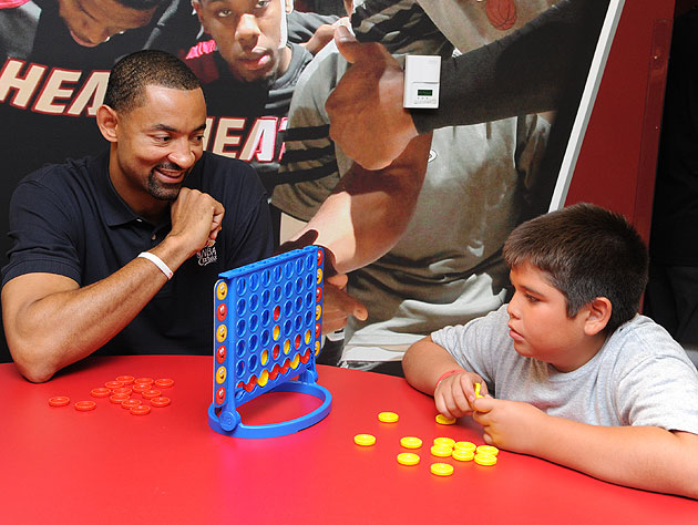A high-stakes game of Connect Four continues apace. (Getty Images)