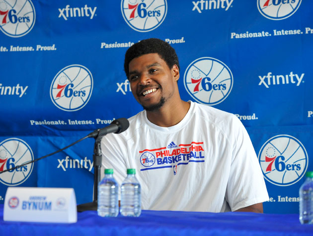 Andrew Bynum in August, before it all went wrong (Getty Images)