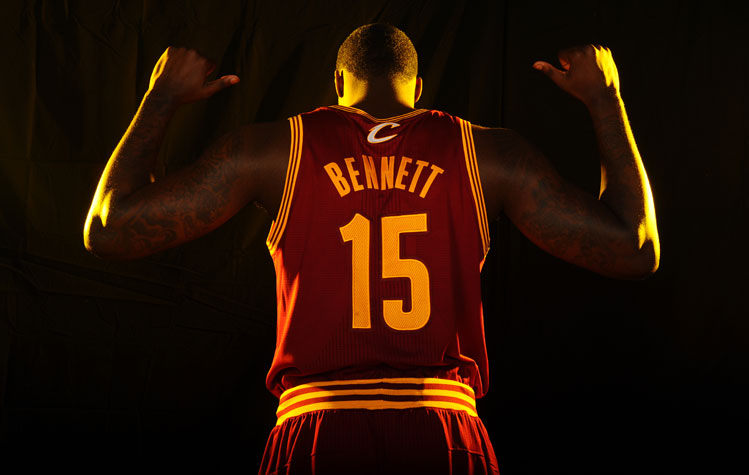 Anthony Bennett gets two thumbs up for his poutine recipe from this guy (Getty Images)