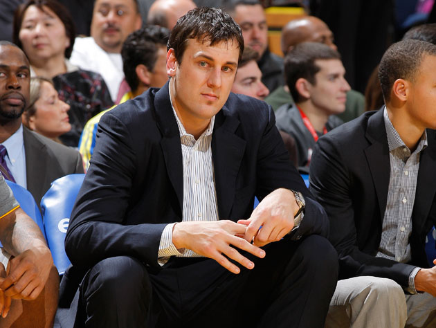 Andrew Bogut does not look like the author, he only had a soul patch for one year (Getty Images)