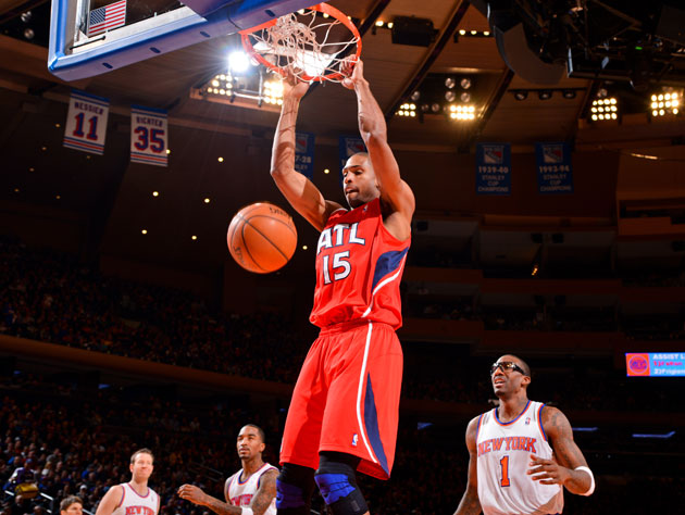 "Al Horford's play this year has been a ""slam dunk"" (Getty Images)"