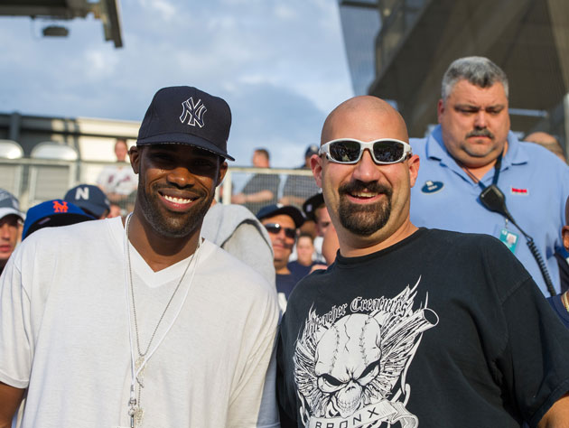 Antawn Jamison, a true Yankee at heart. (Getty Images)