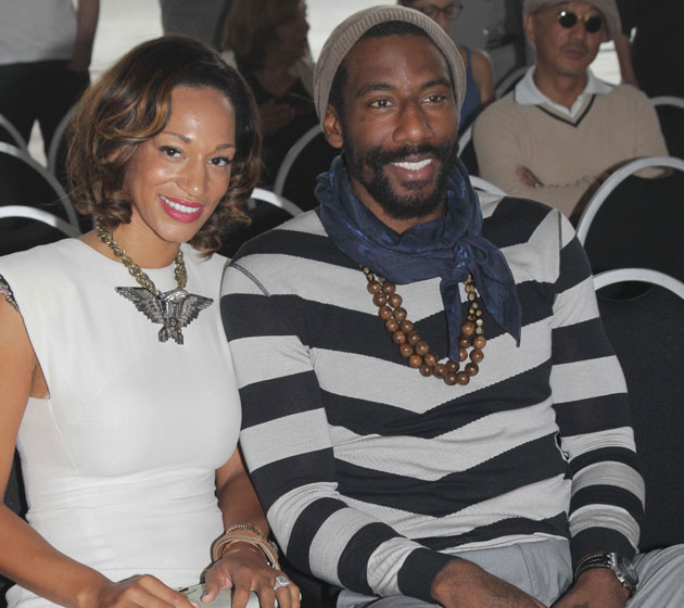 Between Paris and drop-step tutorials, it's been a nice offseason for Amar'e Stoudemire (Getty Images)