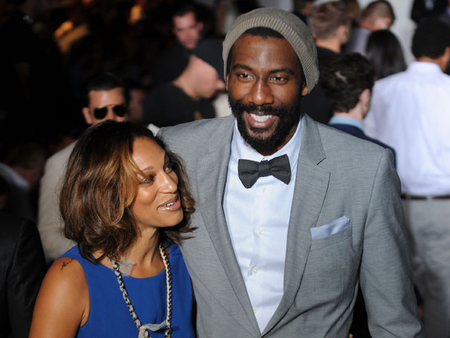 Amar'e Stoudemire takes his hoops hints from Hakeem Olajuwon, and dressing tips from Marvin Gaye (Getty Images)