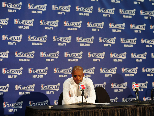 Larry Drew, following Atlanta's Game 6 loss (Getty Images)