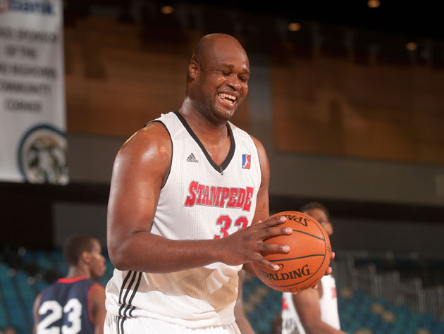 Antoine Walker of the Idaho Stampede (Getty Images)