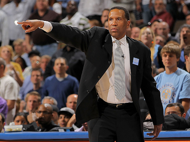 Adrian Dantley's been directing traffic for years. He just didn't have the title. (Doug Pensinger/Getty)