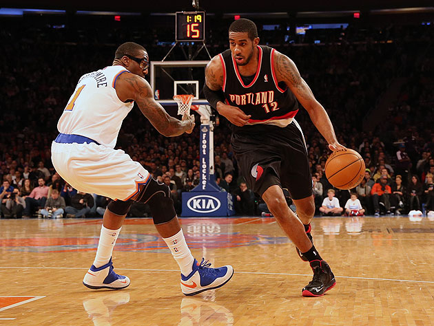 Amar'e Stoudemire shows how much he has to learn. (Anthony Gruppuso-USA TODAY Sports)