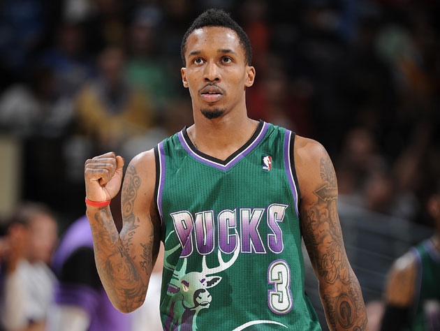 It was probably the Elliot Perry-styled uniforms that set Brandon Jennings off (Getty Images)