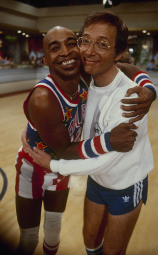 Honorary Globetrotter Bernie Koppell (Getty Images)