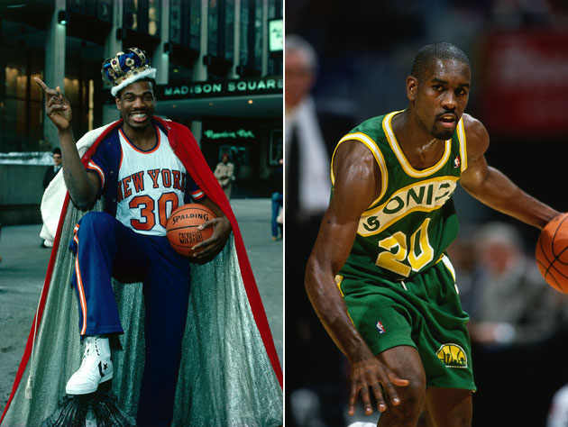 Bernard King and Gary Payton (Getty Images)