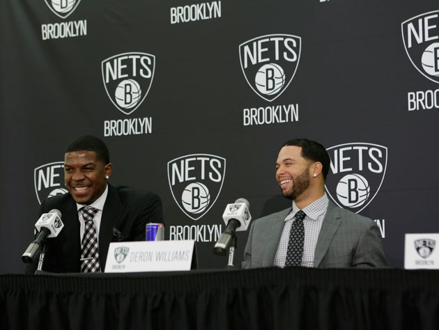 Joe Johnson, Deron Williams, and many mentions of a town no Nets will live in (Getty Images)