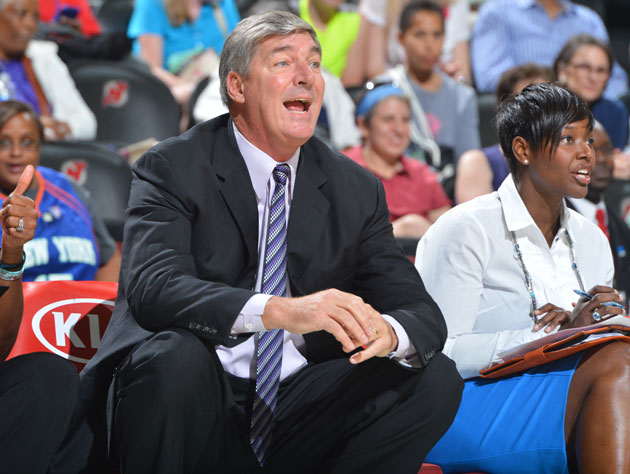 Bill Laimbeer enjoyed sesame-ginger chicken wings following this New York Liberty win (Getty Images)