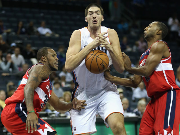 Byron Mullens, not quite there yet (Getty Images)
