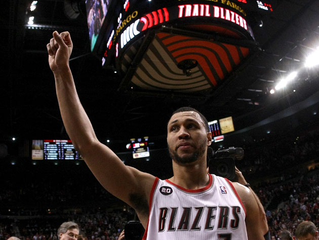 Brandon Roy, during Portland's 2011 postseason run (Getty Images)