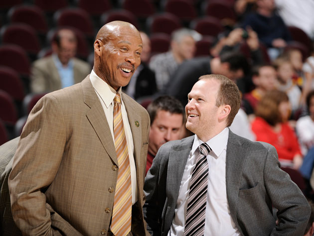 Byron Scott turned in a 64-166 record as Cavalier coach (Getty Images)