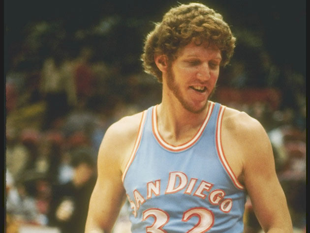 Bill Walton, tastemaker. (Getty Images)