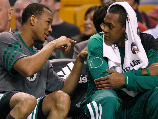 Boston got major late-first-round value out of Avery Bradley and Rajon Rondo. (Barry Chin/Boston Globe/Getty)