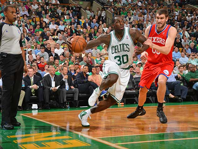 Brandon Bass had himself a night. Sorry, Spencer Hawes. (Getty Images)