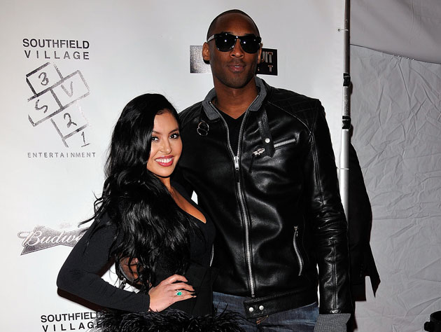 Vanessa and Kobe Bryant (Getty Images)