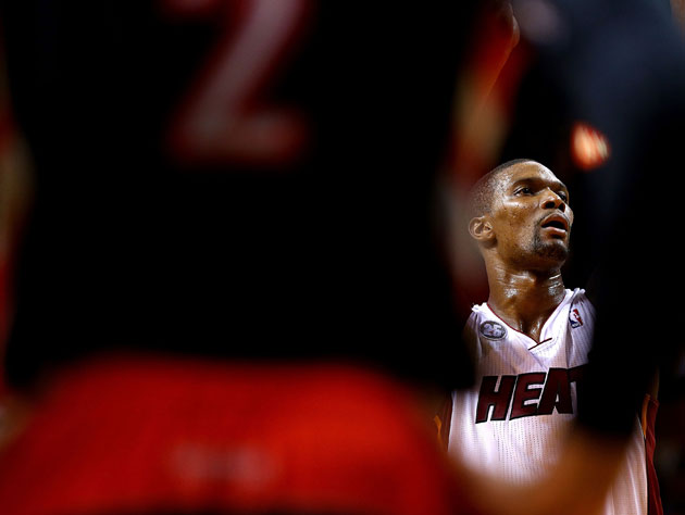Chris Bosh doesn't care about how we picture him (Getty Images)