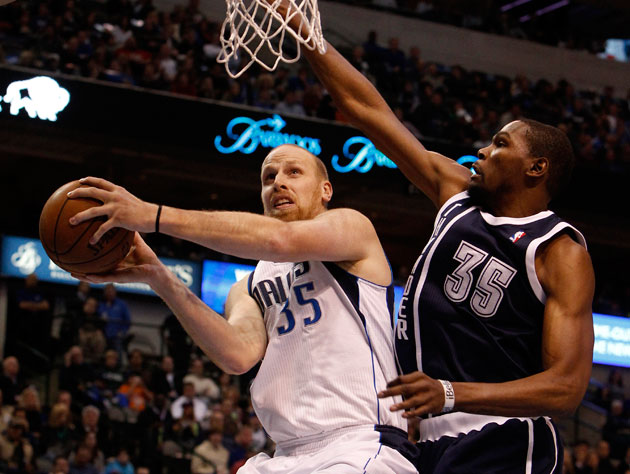 The Mavericks have lost four of seven without Kaman (Getty Images)