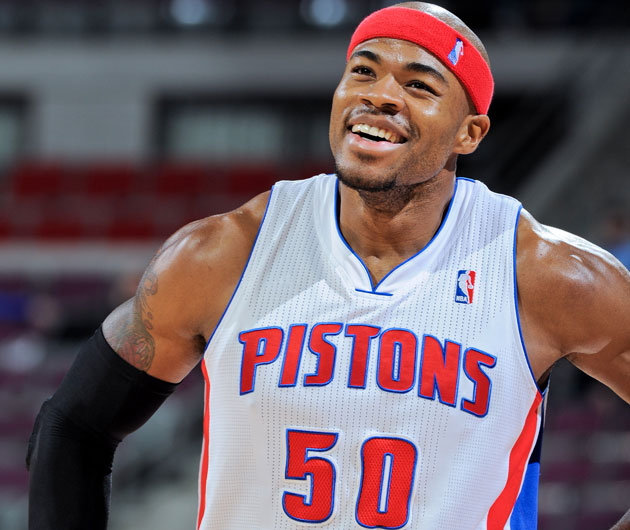 corey maggette though he hasn�t played for the pistons
