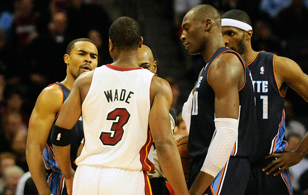 'C'mon, man.' -- The entire Charlotte Bobcats organization. (Sam Sharpe-USA TODAY Sports)