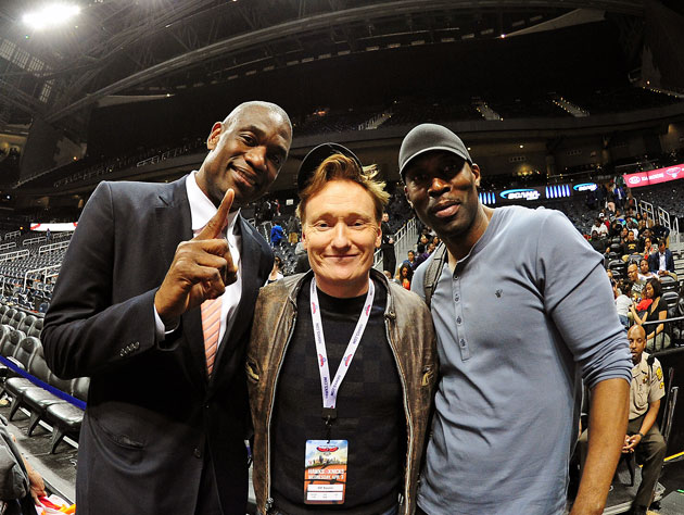 Deke, Coco, and ... Kevin Willis doesn't have a nickname (Getty Images)