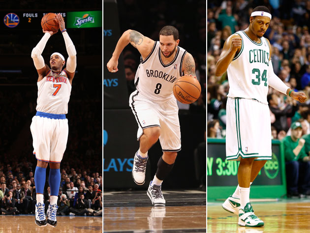 Could the Nets or even Celtics catch the Knicks? (Getty Images)