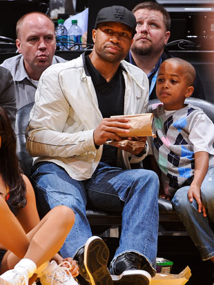 Derek Fisher, in December (Getty Images)