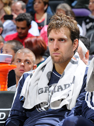 Dirk Nowitzki hates this game (Getty Images)