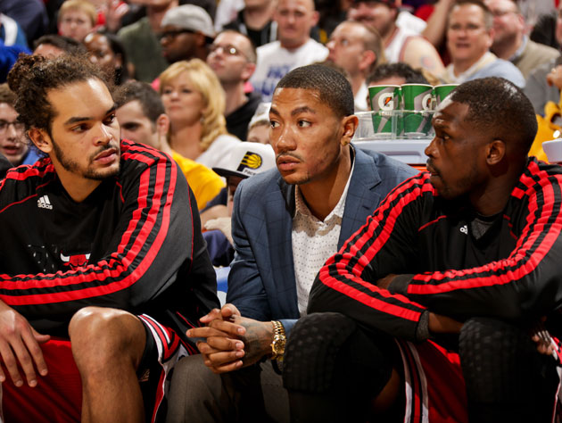 The Chicago Bulls' future, not its present (Getty Images)