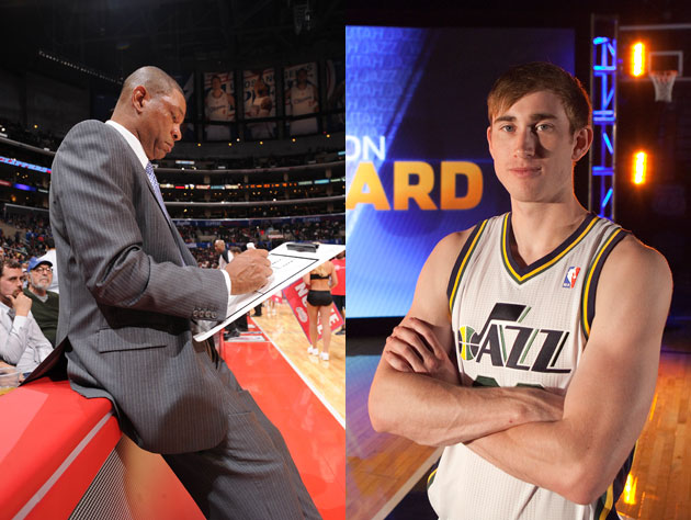 Doc Rivers may or may not be penning a mash note to Gordon Hayward (Getty Images)