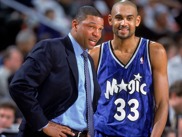 Doc Rivers and Grant Hill in 2000 (Getty Images)