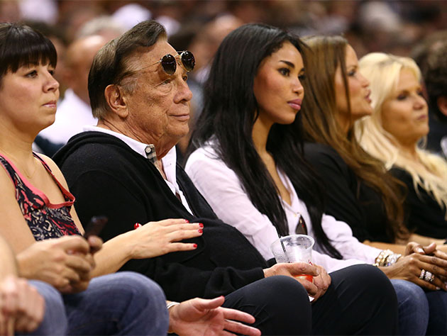 At the very least, you can accuse Donald Sterling of wearing sunglasses indoors (Getty Images)