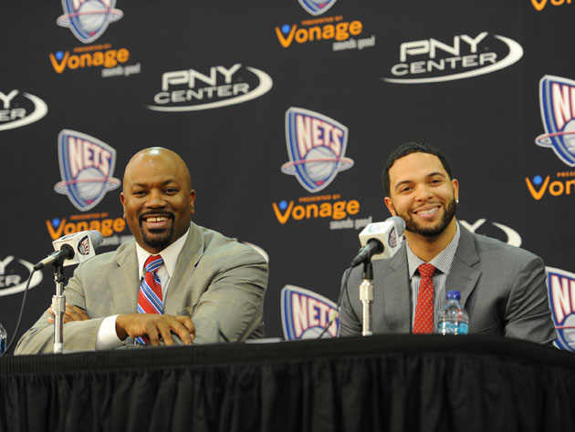 Billy King and Deron Williams and EVERYTHING IS JUST FINE (Getty Images)