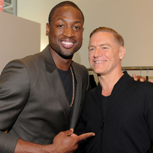 Dwyane Wade and Bryan Adams. BOOOOOOOOOOOOOOO! (Getty Images)