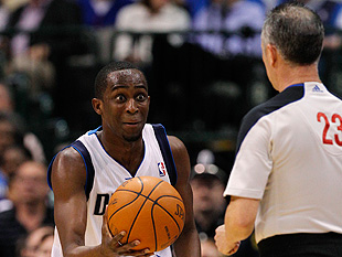 Dallas Mavericks point guard Rodrigue Beaubois is wide-eyed. (AP)