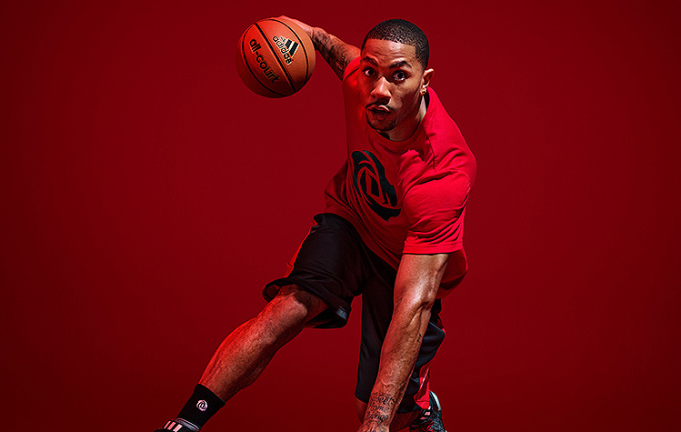 Derrick Rose sounds ready to reclaim his spot among the NBA elite. (Photo via Adidas)