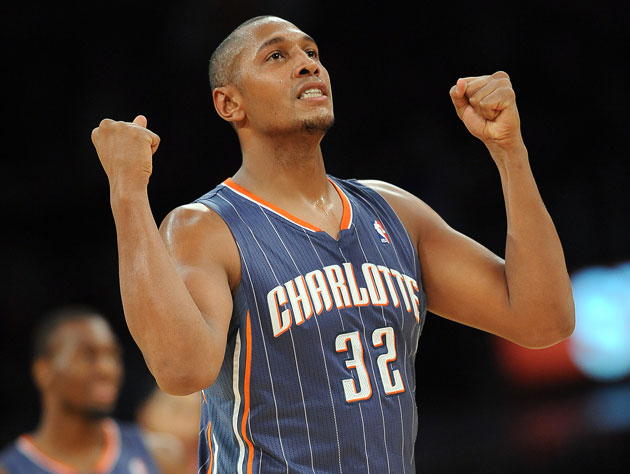 Boris Diaw is free of Charlotte's opressive pinstripes (Getty Images)