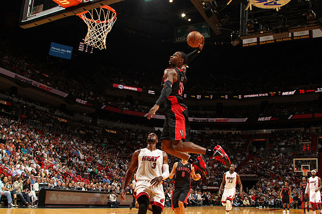 Don't get it twisted: Terrence Ross can fly. (Issac Baldizon/NBA/Getty Images)